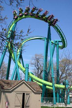 Raptor Coaster Photos - Cedar Point