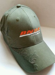 BNSF Railway Adjustable Ball Cap Hat Dri-Duck Wildlife Series  DRIDUCK   BaseballCap Bnsf 41ac86d665fd
