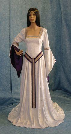 ELVEN DRESS medieval renaissance  fairy dress by camelotcostumes, $224.00