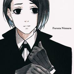 Furuta Nimura~Tokyo Ghoul Re I think he is so cool. Kaneki, Tokyo Ghoul, Anime Guys, Manga Anime, Ayato Kirishima, Dark Drawings, Deadman Wonderland, Anime Style, Studio Ghibli