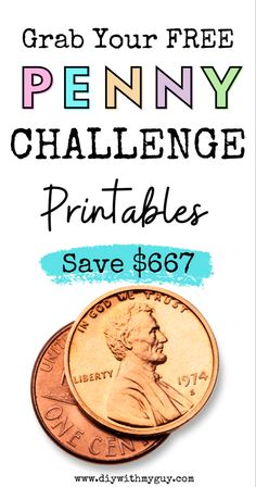 The 365 Day Penny Challenge Reversed is the easiest money saving challenge out there. Just saving your spare change every single day, can add up to hundreds of dollars by the end of the year. Check out this easy Penny Challenge Chart Printable to help you get started! #moneysavingideas #moneychallenge #pennychallenge #savemoney