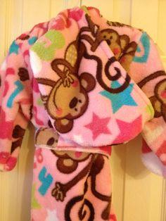 A personal favorite from my Etsy shop https://www.etsy.com/listing/179585502/robe-pink-monkeys-kidstoddlers-handmade