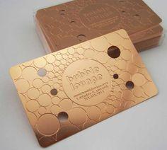 20 Luxurious Metal Business Card Designs (Part 2)