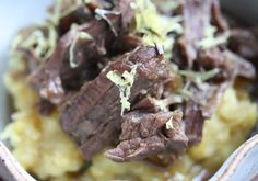 Paleo Braised Short Ribs with Figs #recipe #paleo
