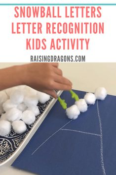 Snowball Letters - Letter Recognition Activity