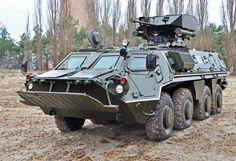 BTR-4 (GROM module) Armored Personnel Carrier (Ukraine)