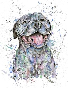 Great gifts for dog lovers on Mother's Day – the mom version - Shake Paws for Dog Lovers Tattoos For Dog Lovers, Dog Tattoos, Custom Dog Portraits, Pet Portraits, Dog Lover Gifts, Dog Gifts, Staffy Dog, Pitbull, Animal Photography