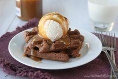 Brownie Waffles  |  Taste and Tell