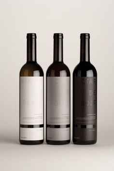 Wine label gre black