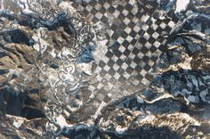 Chess, Anyone? Giant Checkerboard Spied from Space (Photo)