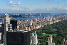 The Upper West Side and Central Park seen from Midtown #Manhattan http://www.nyhabitat.com/blog/2013/09/30/live-like-local-upper-west-side-manhattan/