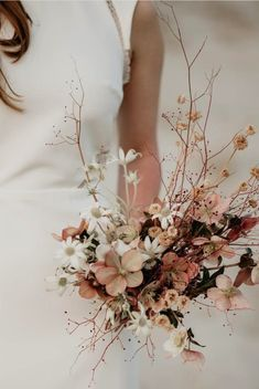 dried wildflower bouquet