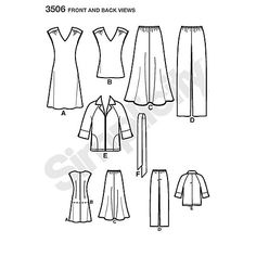 Buy Simplicity Easy to Sew Outfit Sewing Pattern, 3506 Online at johnlewis.com