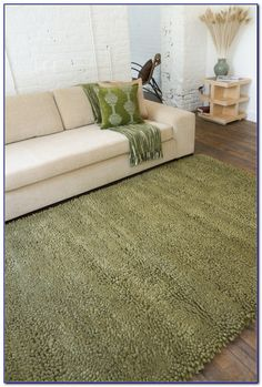 Incroyable Olive Green Area Rug