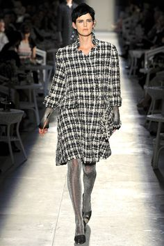 Karl Lagerfeld for vintage couture for Chanel fall 2012