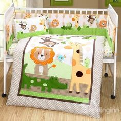 Animals Party in The Forest theme Crib bedding Set Happy Elephant, Forest Theme, Best Baby Shower Gifts, Bedding Sets Online, Baby Bedding Sets, Boy Quilts, A Day In Life, Animal Party, Cribs