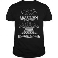 Brazilian Jiu-Jitsu Human Chess - #mens casual shirts #hoodies for boys. ORDER NOW => https://www.sunfrog.com/Funny/Brazilian-Jiu-Jitsu-Human-Chess-Black-Guys.html?60505