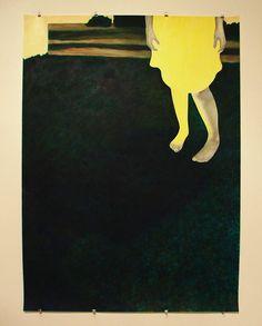 inspi photo couverture : image imprimées en papier -   bare feet, green grass, yellow sunwashed