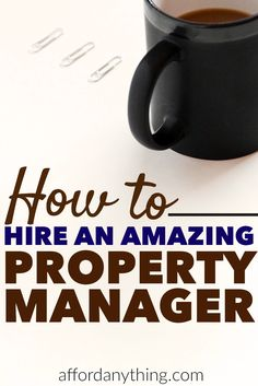Learn how to hire a property manager so good, you'll keep them for years. Last month, I awarded more work to one property manager -- and fired another one. Find out why and how -- and as a bonus, find out exactly how much I earned in my rental property in Income Property, Property Investor, Real Estate Investor, Investment Property, Rental Property, Real Estate Marketing, Real Estate Rentals, Property Real Estate, Investment Advice