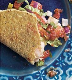 Tuna Ceviche Tacos