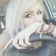 LEDA IS ABOUT TO LEARN HOW TO DRIVE. Be careful angel. <3