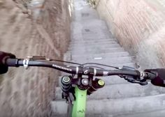 Watch Rémy Métailler plummet downhill through the zigzagging streets and steep staircases in this intense POV video.