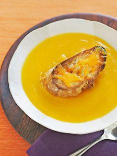 Gingery Butternut Squash Soup