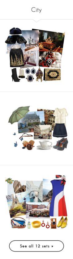 """City"" by tianaalgridge ❤ liked on Polyvore featuring beauty, Ulyana Sergeenko, Dolce&Gabbana, Balmain, Coach, AmeriLeather, Liska, Fendi, Toast and WALL"