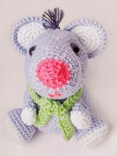 Tutoriel DIY: Crocheter Jean-Charles la souris via DaWanda.com
