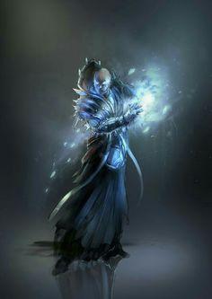 Frost Sorcerer - Pathfinder PFRPG DND D&D d20 fantasy