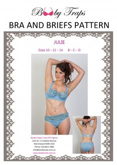 Claudia Bra Pattern by Booby Traps