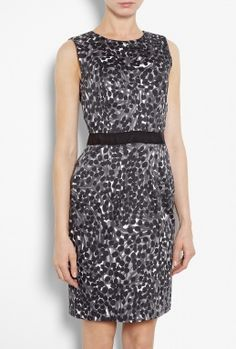 Colette Printed Stretch Cotton Sheath Dress by Milly  #PackforParadise Enter Here: http://budurl.com/PackforParadise
