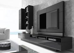 Deco tv, living room tv, living room modern, living room designs, tv unit d Modern Tv Room, Modern Tv Wall Units, Modern Wall, Modern Living, Wall Units For Tv, Tv Unit Decor, Tv Wall Decor, Wall Tv, Bedroom Tv Wall