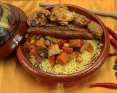 Moroccan Couscous, Mediterranean Couscous, Couscous Royal, Making Couscous, Carribean Food, Arabian Food, Couscous Recipes, Roasted Butternut, Middle Eastern Recipes