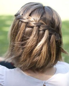So Gorgeous Waterfall Braided Hairstyles 2015 – 2016