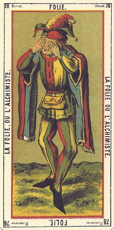 Madness or The Alchemist (The Fool) - Etteilla Tarot  Book of Thoth d2fd2014f4