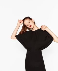 Image 7 of DRESS WITH LAYERED TOP from Zara