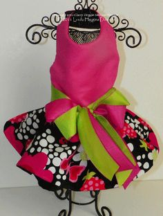 Summer/Fall - Dog Dresses, Pet Apparel, Designer Dresses