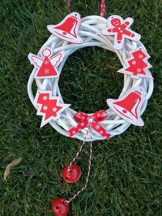 Vianočný venček Christmas puff Christmas, Xmas, Navidad, Noel, Natal, Kerst