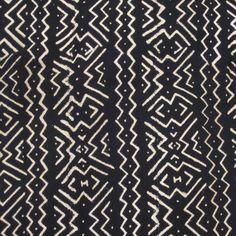 Tribal Chevron Design Hand Woven Mud Cloth from Mali – Ananse Village