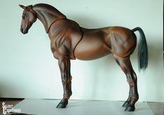 BJD horse by SilentCreatures.deviantart.com on @deviantART