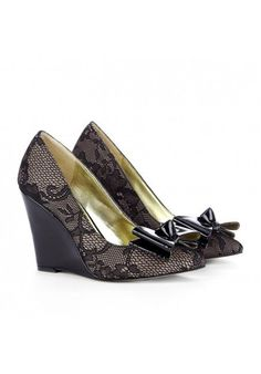 Pointed toe wedges - Katy
