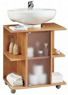 Bathroom Furniture For An Rv Bathroom Furniture, Bathroom Interior, Diy Furniture, Furniture Design, Diy Casa, Small Bathroom Storage, Home Organization, Diy Home Decor, Home Decor Ideas
