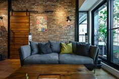 New York Style Industrial Loft Decor