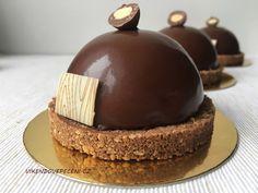 Čokoládové polokoule se sušenkovým pukem Mousse Cake, Vanilla Cake, Cheesecake, Pizza, Cupcakes, Blog, Cupcake Cakes, Cheesecakes, Blogging