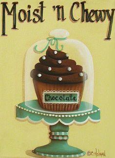 Moist 'n Chewy Cupcake (Catherine Holman)