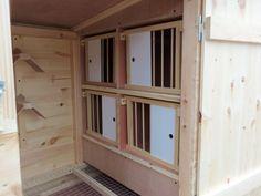 BIRMINGHAM ROLLERS KIT BOX RACING PIGEONS TIPPLERS LOFT WITH NEST BOXS