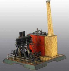 Märklin horizontal marine steam engine ca. 1904.