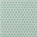 """Lucien"" glass tile in the penny matte finish available through Ann Sacks Tile."