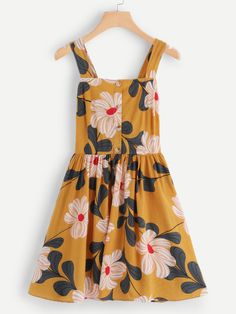 Le Jolie, Dress P, Alter, Single Breasted, Cami, Summer Dresses, Floral, Pretty, Clothes